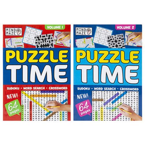 A4 Bumper Mixed Puzzle Book