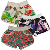 Ladies Surf Printed Shorts