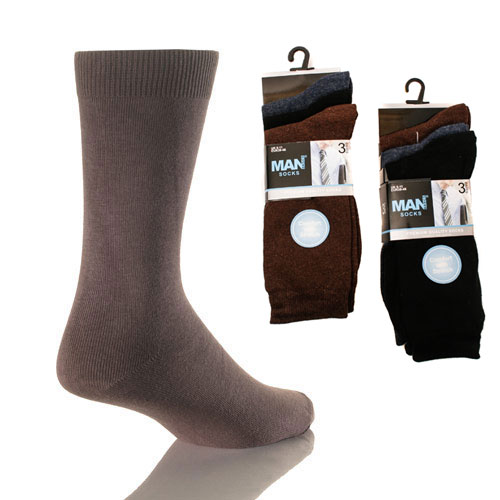 Man Basics Cotton Lycra Socks