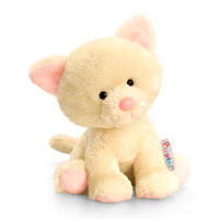 14cm Pippins Cat Soft Toy