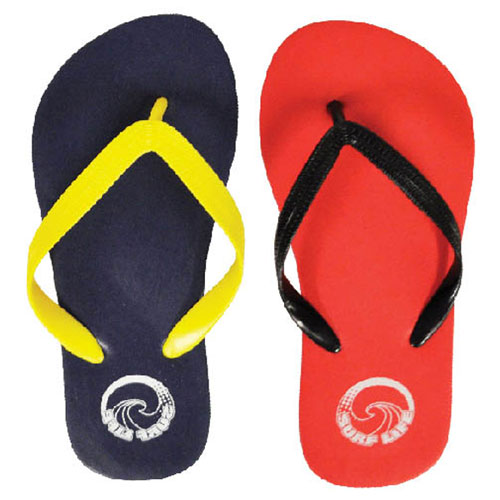 Childrens Plain Print Flip Flops