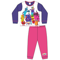 Girls Toddler Official Numberblocks Pyjamas