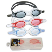 Swimming Goggles Assorted With Case