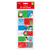 Christmas Sticky Gift Tags