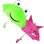 Frog/Cat Childrens Animal Umbrella