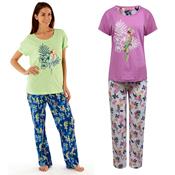 Ladies Parrot Print Pyjama Set