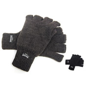 RJM Adult Fingerless Thinsulate Gloves