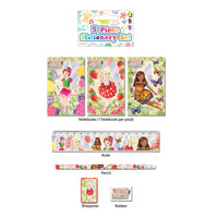 Stationery Set 5 Piece Fairy