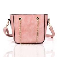 Sally Chain Strap Crossbody Bag Pink