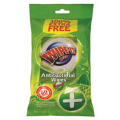 Antibacterial Wet Wipes 80 Pack