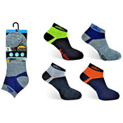 Mens ProHike Trainer Socks Coloured Back Carton Price