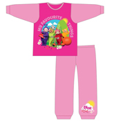 Girls Long Teletubbies Pyjamas