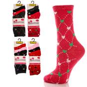 Ladies Heart Ankle Socks