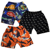 Boys Fish Printed Shorts