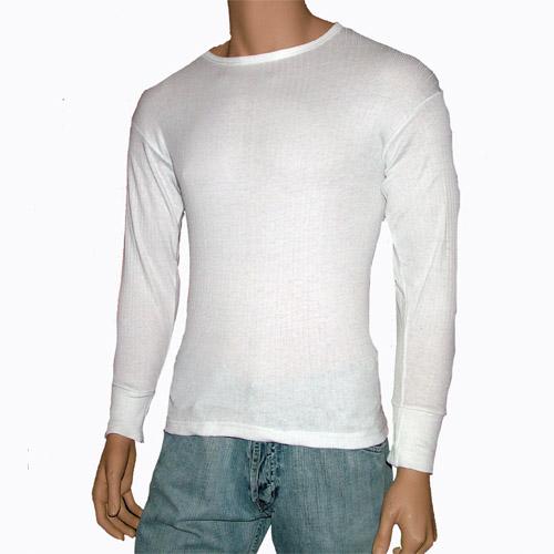 Mens Long Sleeve Thermal Vest