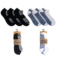Mens 3 Pack Cotton Rich Trainer Socks
