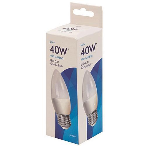 LED Candle Light Bulb E27