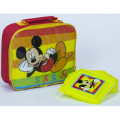 Mickey Mouse Lunch Bag With Snack Container