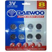 Lithium Batteries Daewoo