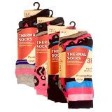 Ladies 3 Pack Thermal Socks Animal Print