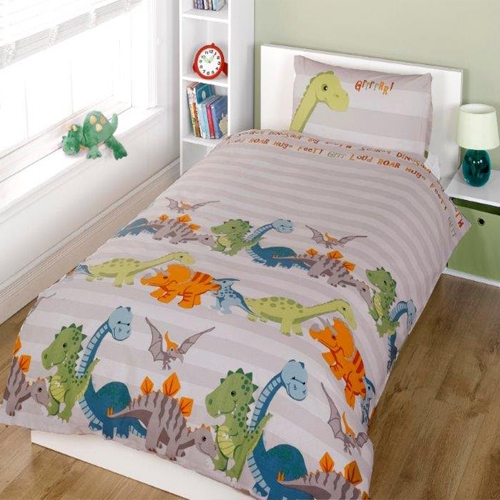 Childrens Fun Filled Bedding - Dinosaur