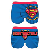 Mens Superman Trunks Dad
