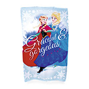 Official Disney Frozen Fleece Blanket Throw
