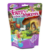 45 Piece Fairy Home Puzzle In Foil Bag