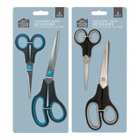 Comfort Grip Scissors 2 Pack