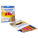 Pack Of 50 Coloured Pencils