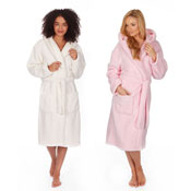 Ladies Flannel Shawl Dressing Gown