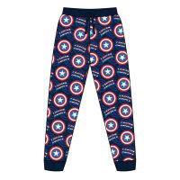 Mens Official Captain America Lounge Pants