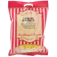 Lemon Sherbets Traditional Sweets 150g Bag