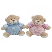 Blue And Pink Soft Teddy Bear Toy