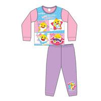 Girls Toddler Official Baby Shark Pyjamas
