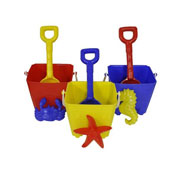 Bucket and Spade Set with Sand Sculptur