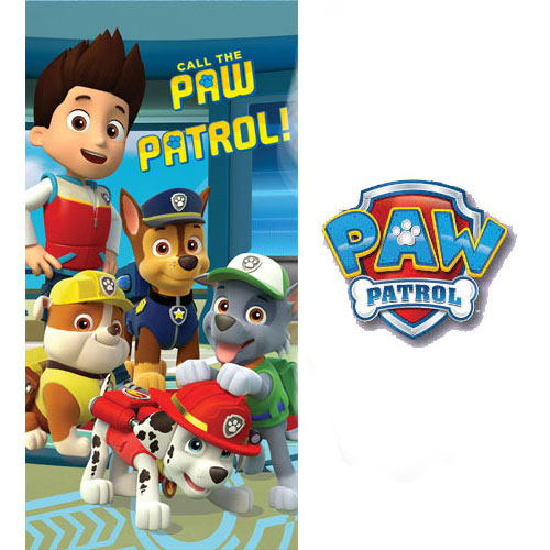 Beach Towel Call The Paw Patrol