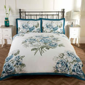 Bloomsbury Teal Duvet Set