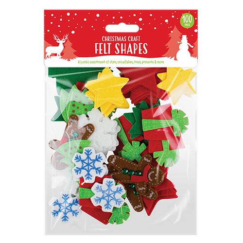 Christmas Craft Felt Shapes