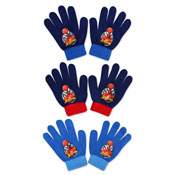 Official Childrens Spiderman Knitted Gloves