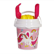 Unicorn Bucket Set With Sieve & Mould