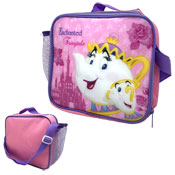 Official Fairytale Mrs Potts Lunchbag With Shoulder Strap