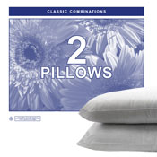 Extra Filled Jumbo Pillows 2 Pack