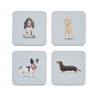 Curious Dogs Coasters