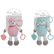 Baby Bear/Rabbit Plush Attachable Toy