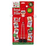 PVC Covered Hand Printed Bendy Elf