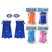 Kids Flipper Set With Goggles
