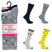 Ladies Exquisite Computer Socks Farm Animals Carton Price