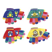 Childrens Magic Rubber Print Gloves