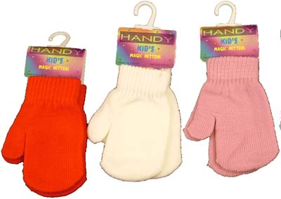 Handy Kids Magic Coloured Mittens